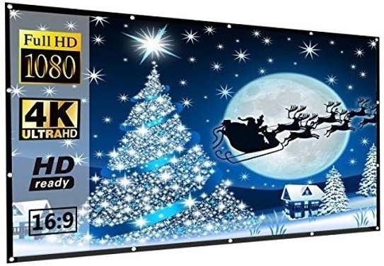 Foldable Projector Screen - 100 Inches image 7
