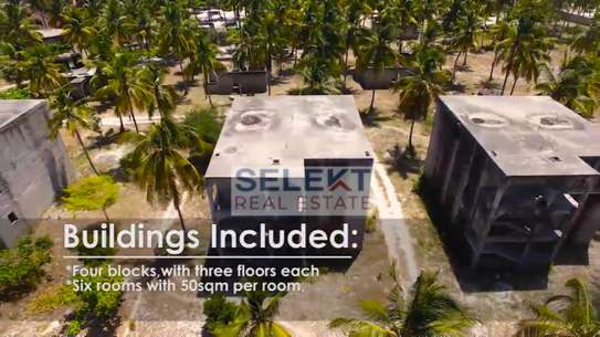 17acres Semi-finished Beach Hotel Resort For Sale In Zanzibar image 5