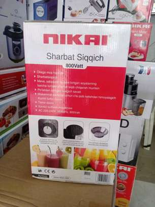 Nikai Juice Extractor 800 Watt...235,000/= image 2