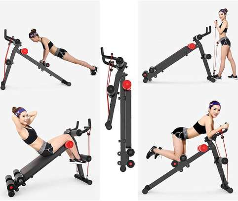 4 in 1 Multifunctional sit up bench image 3
