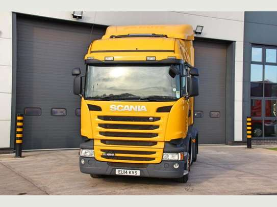 2014 Scania R450 6X2 MIDLIFT TRACTOR UNIT image 1