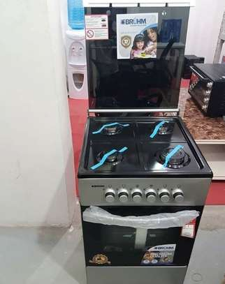 BRUHM COOKER WITH 4 PLATES AND GAS OVEN