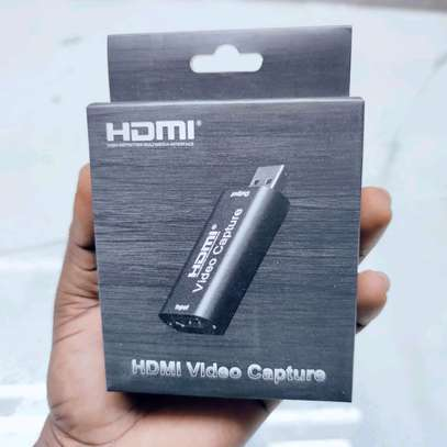 Live Streaming 4K Video Capture Card. USB 3.0/2.0 HDMI Video Grabber Record Box image 1