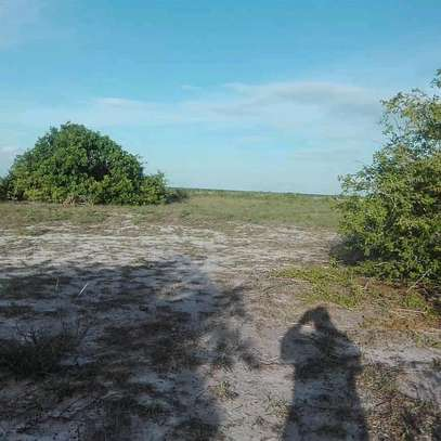 9 Acres of a Commercial Titled-Beach-Land at Mapinga Bagamoyo. image 3