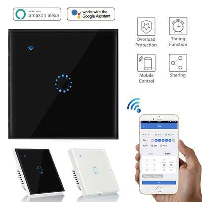 WiFi Smart Switch 1 Gang (Alexa + Google Home) Compatible