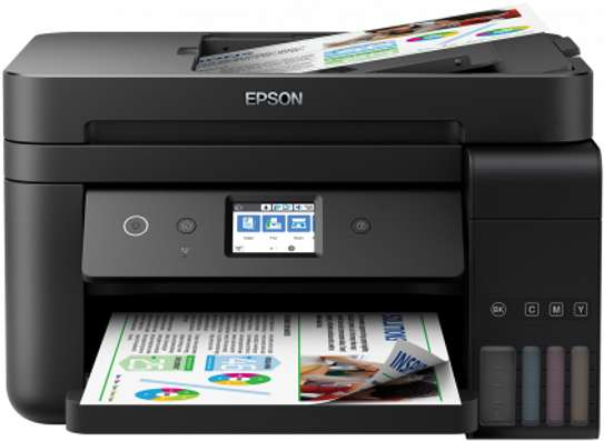 Epson L6190 Printer ( Print Cost Per page in Black Tzs 12)