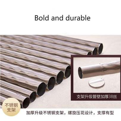 Mosquito Net Three Open Door 1.5m1.8 Meters Double Bed Encryption Stable Bracket Home image 5