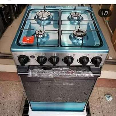 4G Plate Cookers with Electric Oven image 1