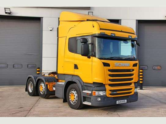 2014 Scania R450 6X2 MIDLIFT TRACTOR UNIT image 3
