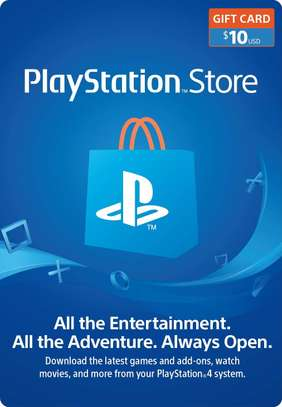 10$ PlayStation Store Gift Card - PS4 [Digital Code]