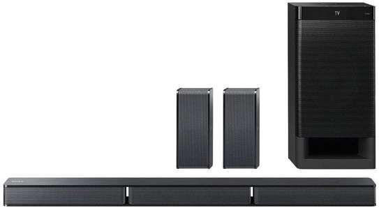 Sony HT-RT3 Real 5.1ch Dolby Audio Soundbar Home Theatre System (600W, Dolby Audio, Bluetooth Connectivity) Black image 1