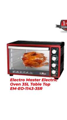 Electro Master Electric Oven 35L Table Top EM-EO-1143-35r image 1