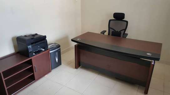 Office Desk, Side Unit and Chair
