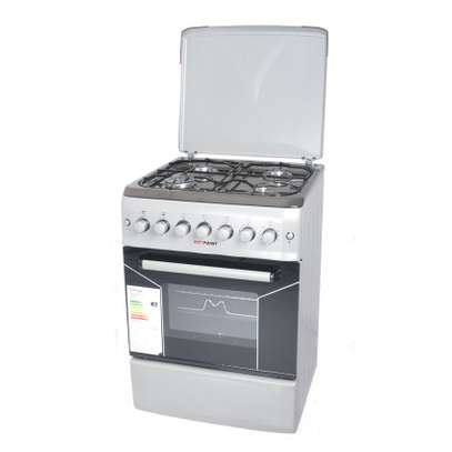 Von Hotpoint Cooker 50X50 F5S40G2.S Full 4 Gas Cooker - Silver