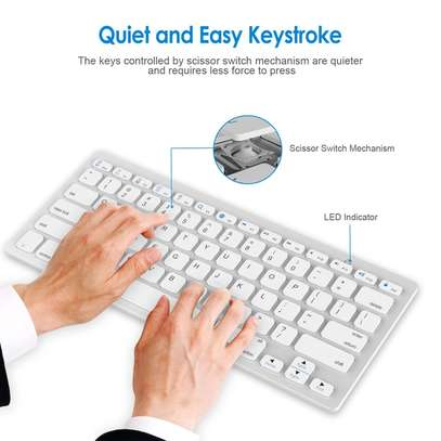 Mini Bluetooth Wireless Keyboard for Smartphone Laptop Tablet PC keyboard image 3
