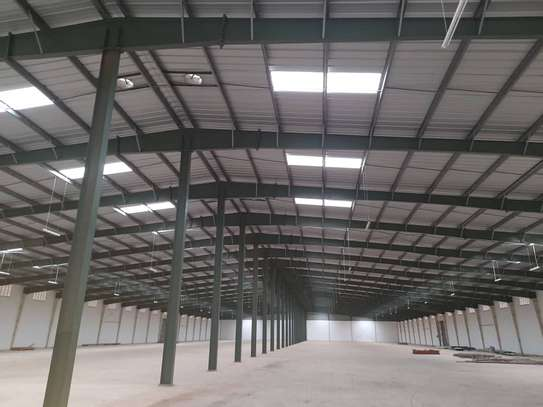 12000 Square meter warehouse available for rent along Kilwa Road image 1