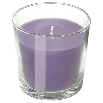 Scented Candles in a glass image 4