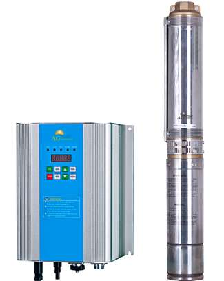 Submersible solar water pump 0.5 HP