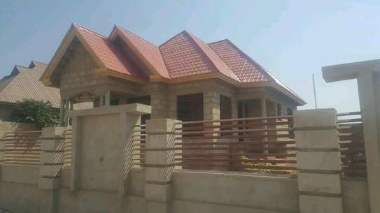 NEW HOUSE FOR SALE AT MLIMWA C IN DODOMA TANZANIA FOR LOW PRICE