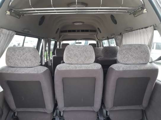 1996 Toyota HIACE DIESEL AUTO USD 6500 UP TO DAR PORT TSHS 24MILLION ON THE ROAD image 8