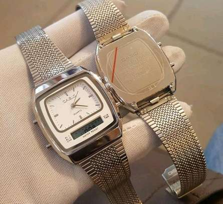 Casio double watch