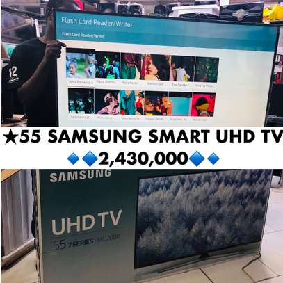 Samsung 55 Smart UHD 4K TV - Series 7 image 1