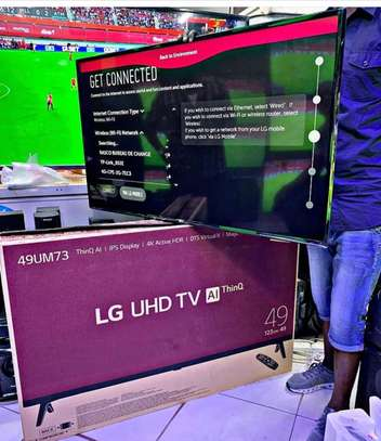 LG 49 inch Smart Tv UHD TV image 1