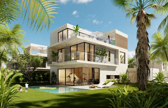 5 Bedrooms Villa with a private Pool and free access to the beach club image 1