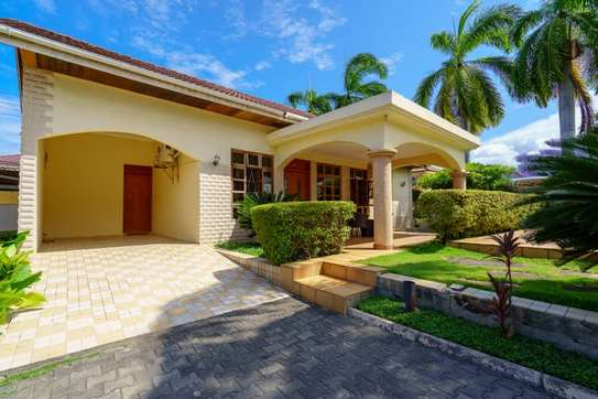 2 bed room house villa in the compound for rent at mbezi beach jangwani image 1