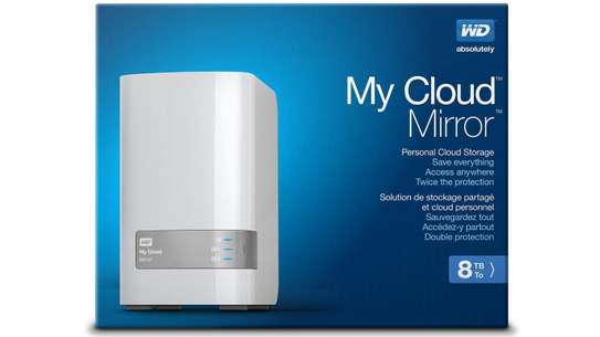 WD 8TB PERSONAL CLOUD STORAGE NAS