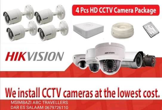 CCTV 4 CAMERA 2MP PACKAGE