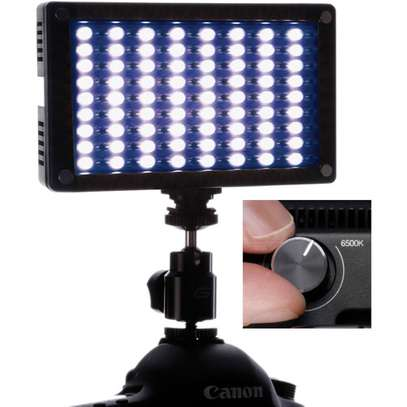 Genaray LED-6200T 144 LED Variable-Color On-Camera Light image 3