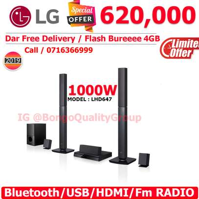 LHD647 1000W 5.1Ch DVD Home Theatre System
