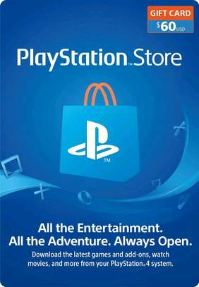 60$ PlayStation Store Gift Card - PS4 [Digital Code]