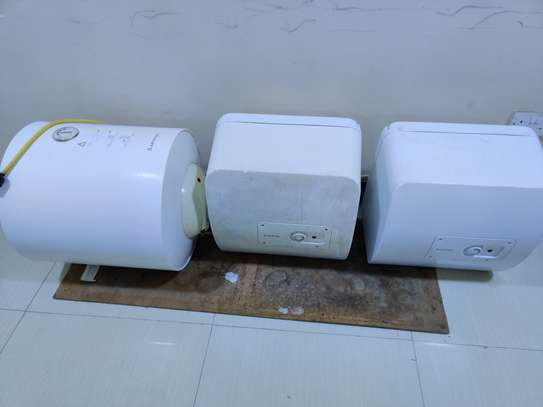 Fairly used Ariston water heater 50 and 30 liters