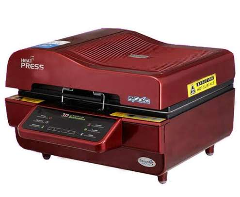 Vacuum heat press machine