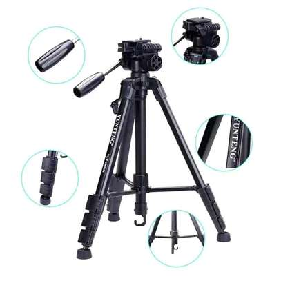 YUNTENG VCT-690 Professional Tripod with Carrying Bag for SLR Camera image 5