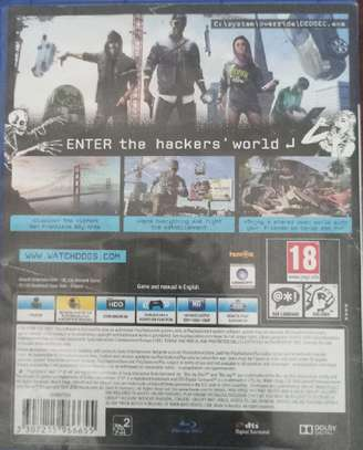 Watchdogs 2 PS4 Cd image 5