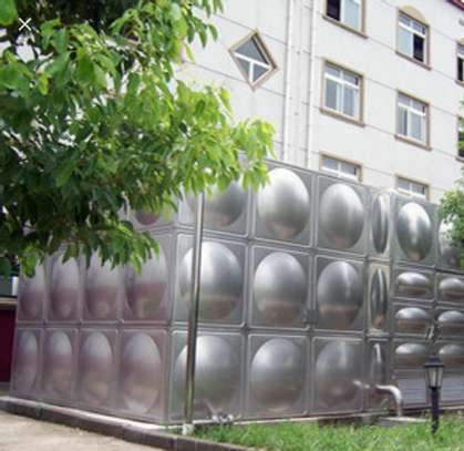 STAINLESS TANKS 304 ROUND SHAPE image 1