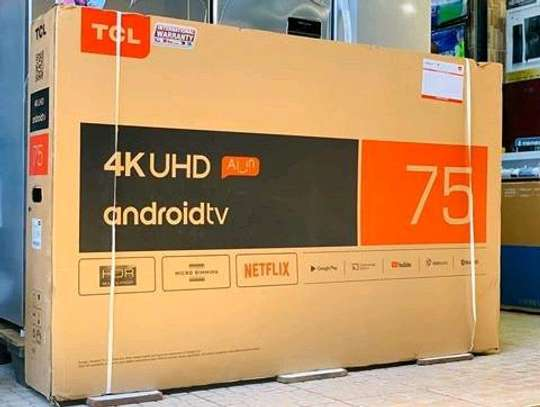 TCL 75 Inch UHD (4K) TV.....4,900,000/= image 1