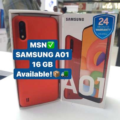 "SAMSUNG A01 GB 16 ""BUY 1 GET FREE COVER"