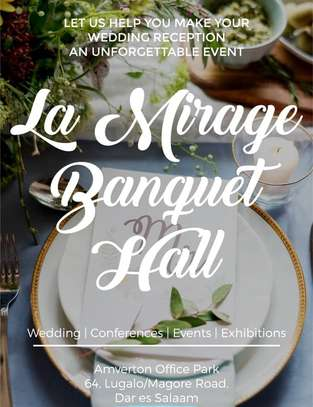 LA MIRAGE BANQUET HALL  FOR RENT