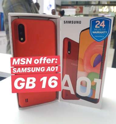 SAMSUNG A01 GB 16 (Special Offer)