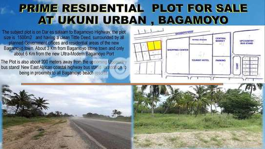 2 prime plots at bagamoyo ukuni high way