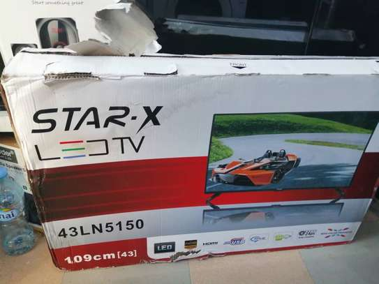 Star X 43inches brand new boxed for sale