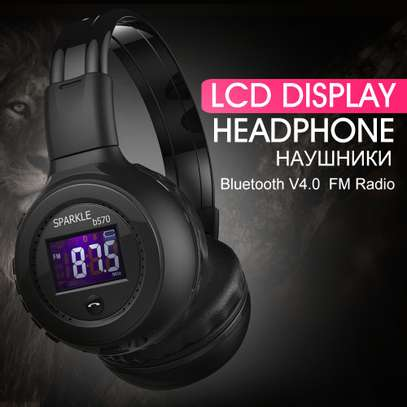 Super Bass High quality headphones with bluetooth, radio, mp3 player and LCD display free delivery dsm image 10