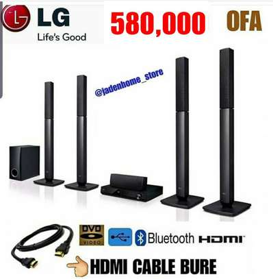 LG HOME THEATER 330 WATTS image 1