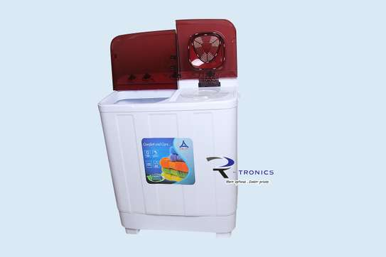 Delta Top Load, Twin Tub Manual 10Kg Washing Machine image 2