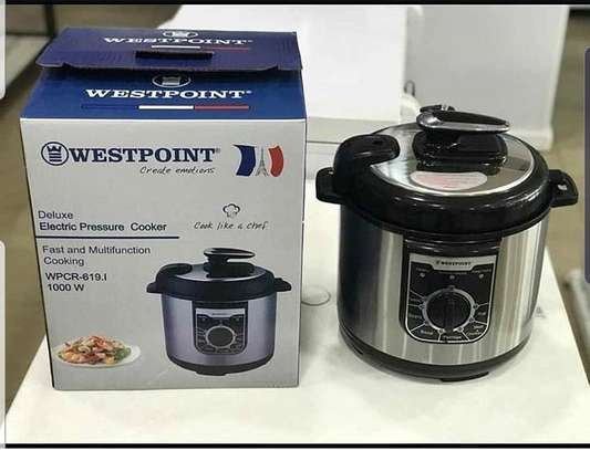WESTPOINT ELECTRIC PRESSURE COOKER AVAILABLE