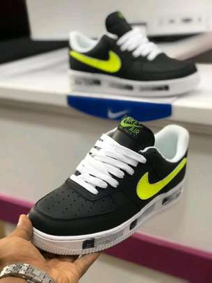 Nike Air Force shoes.